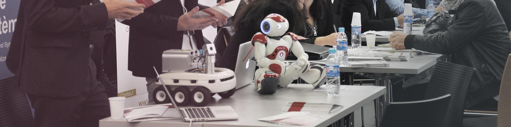 Robot au Salon GO