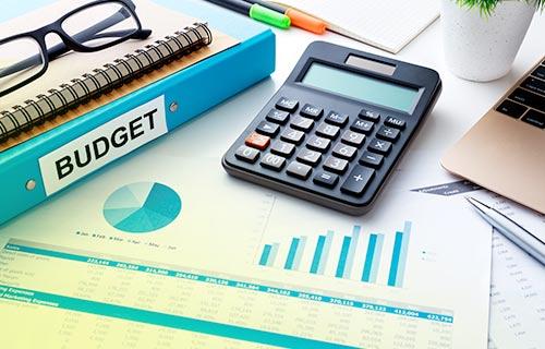 Calcul de budget pour un projet